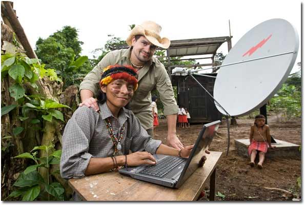 Amazonica Internet Antenne