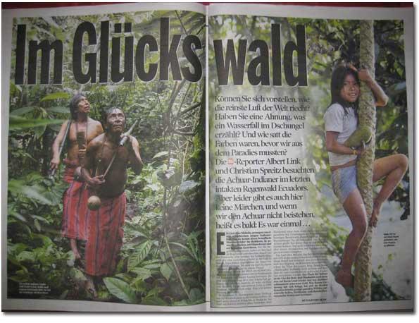 BILD am Sonntag AMAZONICA Artikel