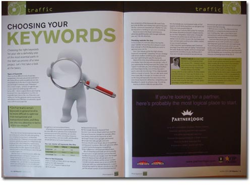 CAP Artikel - Choosing your keywords