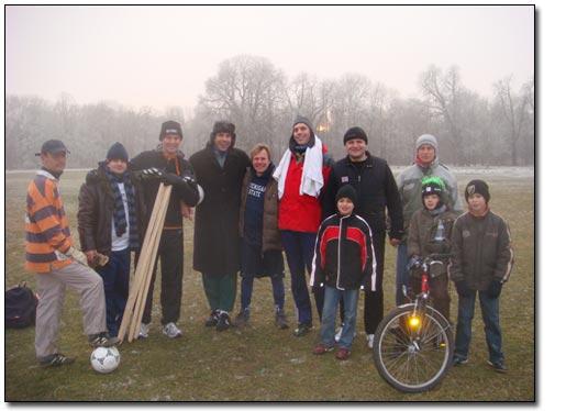 Eisfussball Nationalmannschaft