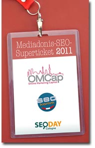 Mediadonis SEO-Superticket 2011