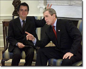 Mediadonis beim Bush