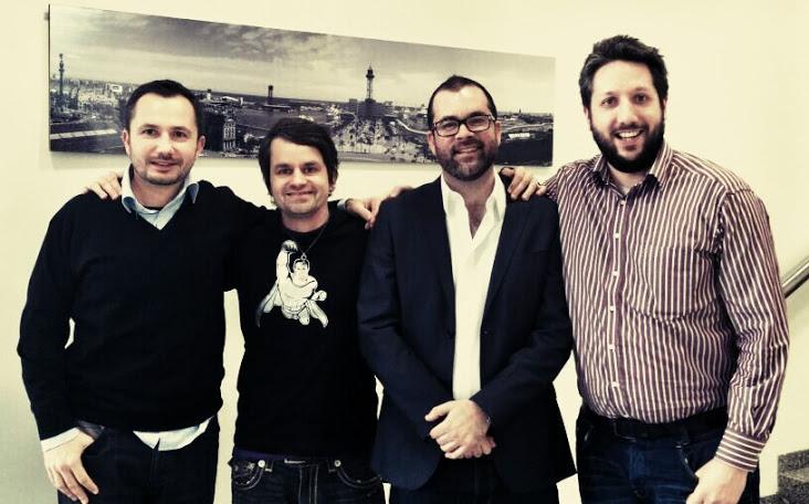 Kaspar, Marcus, Richard & Fili