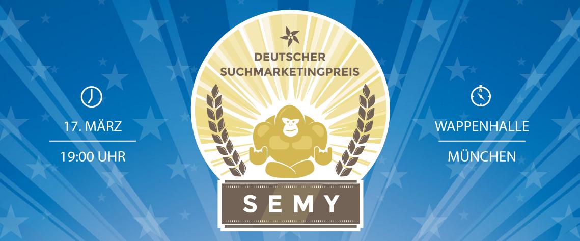 SEMY Awards - der Deutsche Suchmarketingpreis