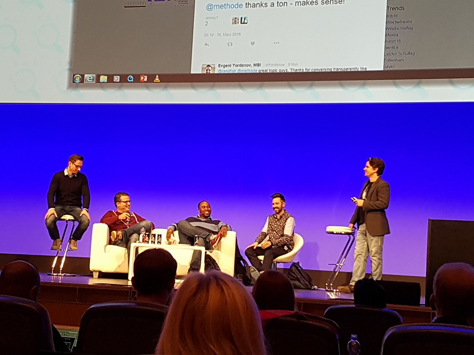 Webmasters on the Roof AllStars Panel @ SMX München 2016